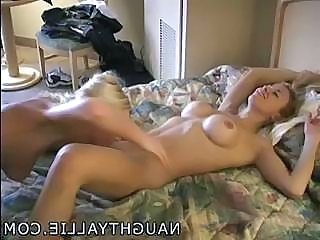 SLUMBER PARTY FUN WITH JORDEN - AMATEUR BI WIVES