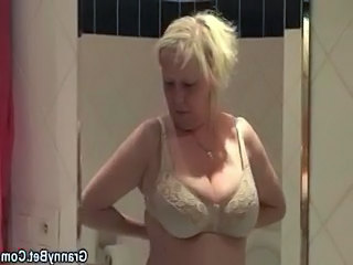 Bathroom Lingerie Mom Bathroom Bathroom Mom Boobs