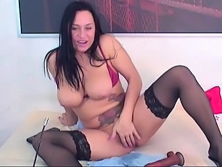Unselfish Titties Deep Dildo Penetration HD