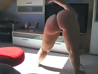 Dancing Amateur Ass