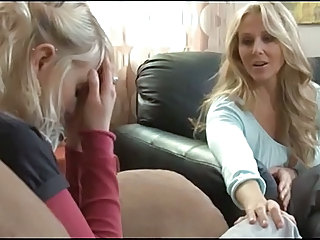 Mature Woman Seduces Young Girl....F70