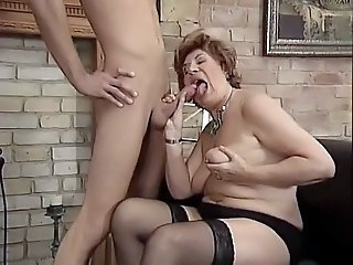 German Saggytits Mom European German German Blowjob