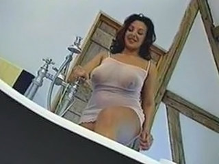 Big Tits Chubby Lingerie Bathroom Bathroom Tits Big Tits