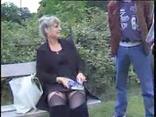 Public Outdoor Mature Crazy French French Mature