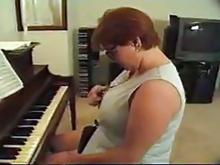 Threesome Mature Piano Teacher (BBW)