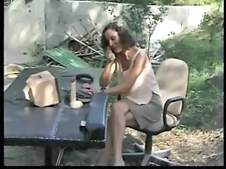 Mature French Outdoor Anal Mature French French Anal