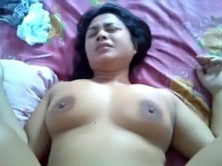 Natural large breasted grandma