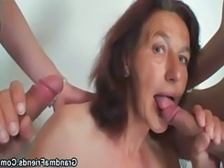 Skinny Blowjob Mom Granny Young Old And Young