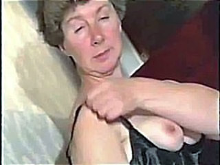 Video from: nuvid | Smoking Hairy Granny In Stockings Over Shiny Pantyhose