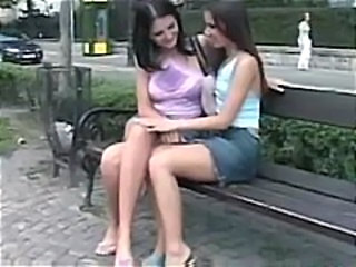 Jenna and Sandra Shine make out and get down to eating pussy