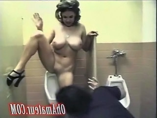 Toilet MILF Antik