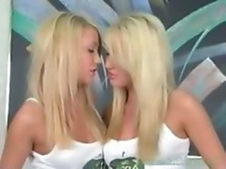 Sister Twins Blonde Blonde Lesbian Blonde Teen Cute Blonde