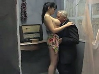 Grandpa And Old Man Fuck Girl