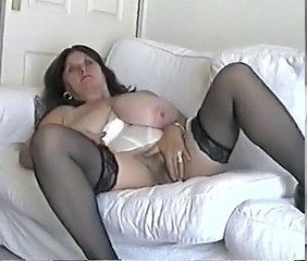 BBW Big Tits Masturbating