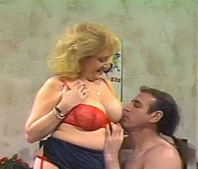 Vintage BBW Pornstar Bbw Blonde Lingerie Old And Young