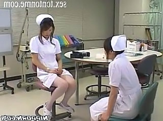 Horny nurse masturbation