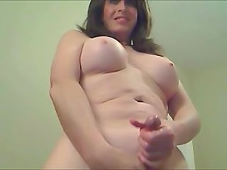 Mature Cumshot Masturbating