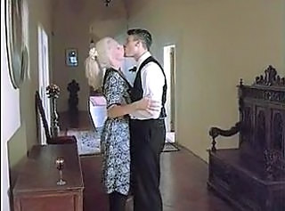 Kissing Vintage Blonde Anal