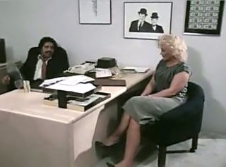 Mature Interracial Office Caught