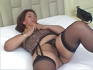 Latina MILF Stockings