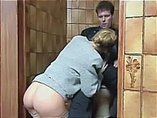 Toilet Ass Clothed Blowjob Milf Milf Ass Milf Blowjob