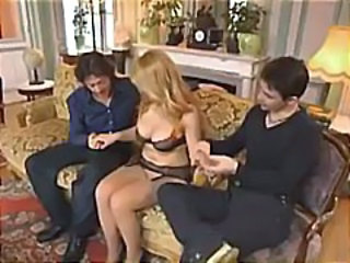 Threesome Vintage European Boobs European Housewife