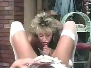 Retro pussy licking lesbians