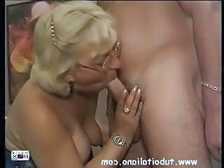 Italian Blowjob Glasses Blonde Mature Blonde Mom Blowjob Mature