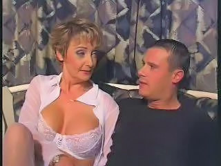 Mature Pierced In White Stockings Fucks
