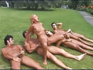 Five man gangbang of a naughty slut tubes
