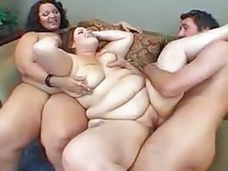 SSBBW Threesome MILF