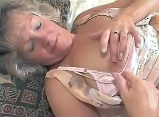 Nipples Granny Stockings Stockings