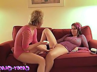 First Time MILF Fishnet First Time Fishnet Lesbian First Time