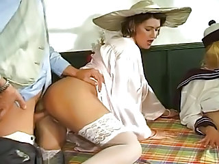 German Groupsex Clothed Babe Ass European German