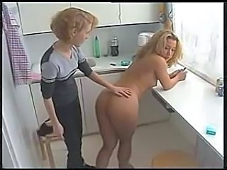 German Kitchen Ass European German German Teen