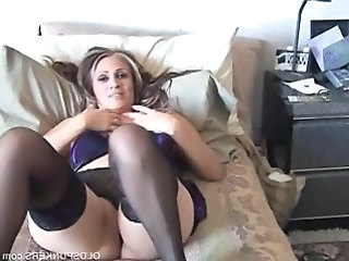 Chubby MILF Stockings