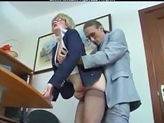 Office Pantyhose Clothed Clothed Fuck Cumshot Ass Cumshot Mature