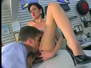 Licking Vintage MILF Ass Licking Milf Ass Milf Office