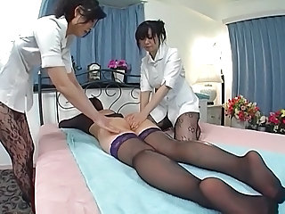 Japanese girls massage314