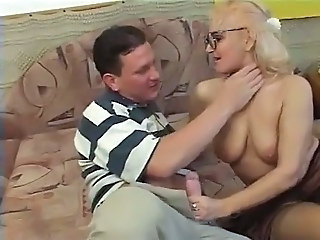Handjob Mom Natural Granny Stockings Granny Young Old And Young