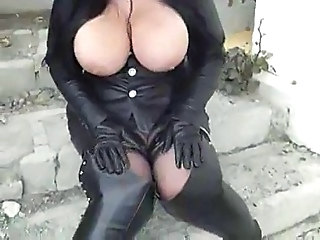Outdoor Big Tits Fetish
