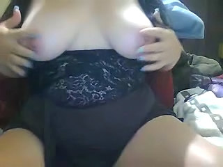 Fat BBW Ex Girlfriend masturbating and Squirting on Cam