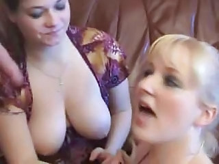 Threesome Amateur Blowjob