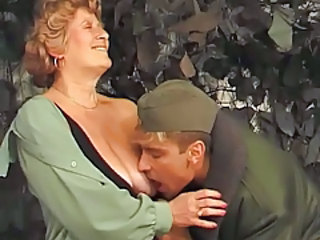 Licking Old And Young Army Granny Hairy Granny Young Hairy Granny