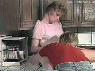 Kitchen Pornstar Vintage Kitchen Sex