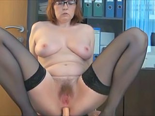 Hairy Secretary Office Chubby Anal Chubby Ass Dildo Anal