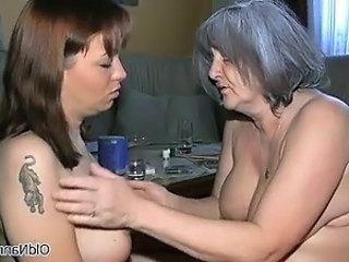 Video from: dr-tuber | Nasty old woman gets horny part4