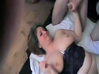 Danish amature gangbang 8