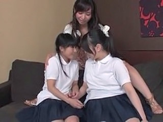 Japanese Asian Student Asian Lesbian Asian Teen Foreplay