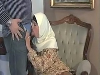 Video from: pornhub | ARAB Muslim HIJAB Turbanli Nice Tits DOGGY FUCK Blowj...